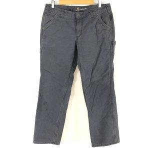 Carhartt Womens Pants Original Fit Fleece Lined